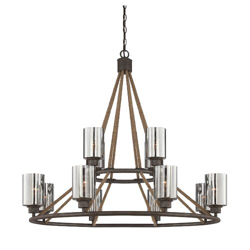 Wildon Home ® Maverick 12 Light Chandelier