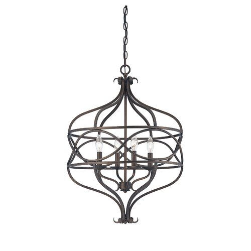 Wildon Home ® Society 4 Light Pendant