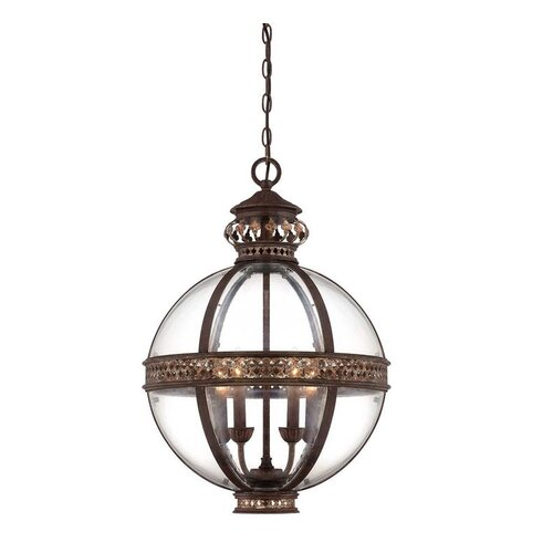 Wildon Home ® Strasbourg 4 Light French Globe