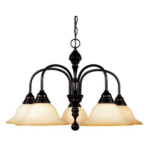 Wildon Home ® Balsam Lake 5 Light Chandelier