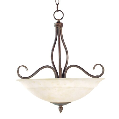 Wildon Home ® Selawik 3 Light Inverted Pendant