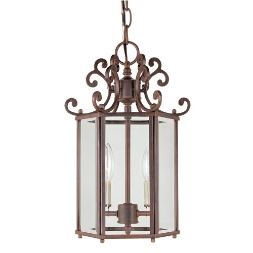 Wildon Home ® Liberty 2 Light Foyer Pendant