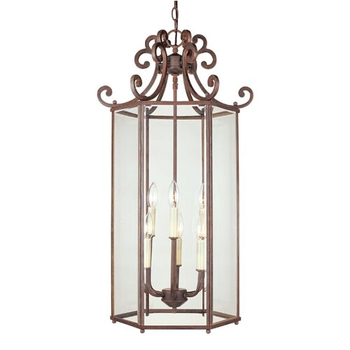 Wildon Home ® Liberty 6 Light Foyer Pendant