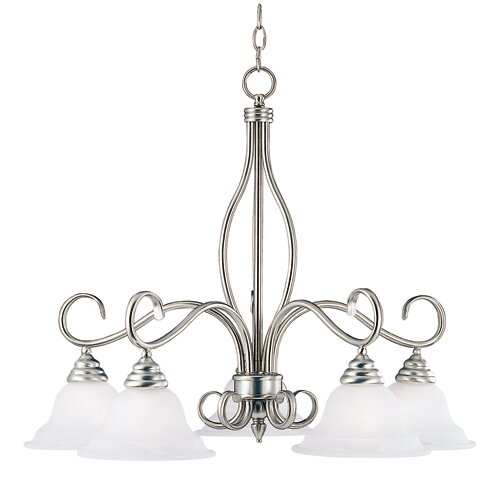 Wildon Home ® Polar 5 Light Chandelier