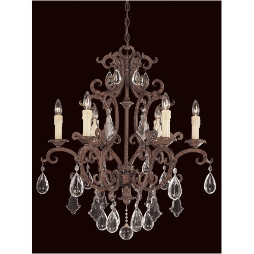 Wildon Home ® Provenciale 6 Light Chandelier