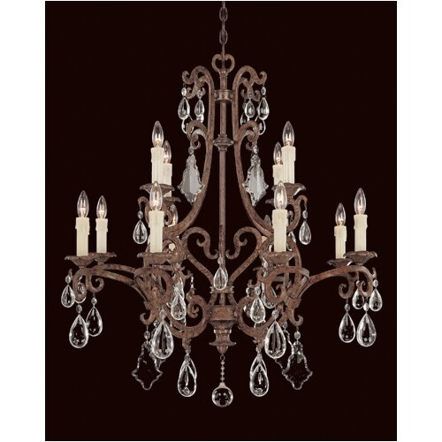 Wildon Home ® Provenciale 12 Light Chandelier