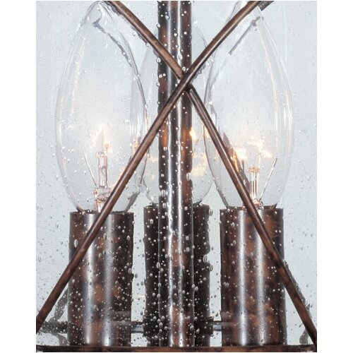 Wildon Home ® Smith Mountain 3 Light Outdoor Hanging Lantern