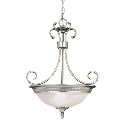 Wildon Home ® Belmont 3 Light Inverted Pendant