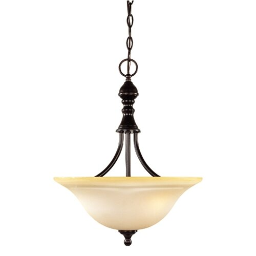 Sutton Place 3 Light Inverted Pendant