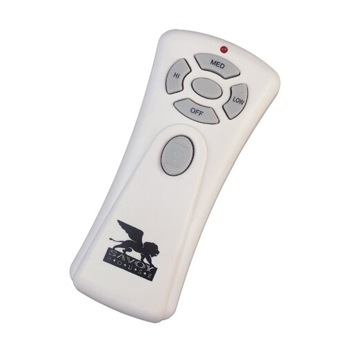 Savoy House Wet Location Non-Reverse Hand Held Fan / Light Remote Control
