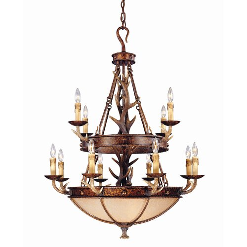 Wildon Home ® Blue Ridge 12 Light Chandelier