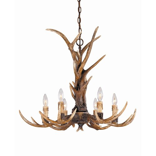 Wildon Home ® Blue Ridge 6 Light Chandelier
