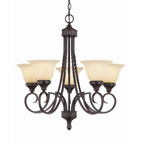 Wildon Home ® Legend 5 Light Chandelier
