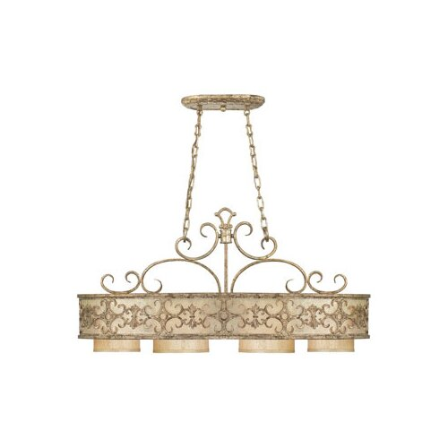 Wildon Home ® Bradwell 4 Light Oval Chandelier