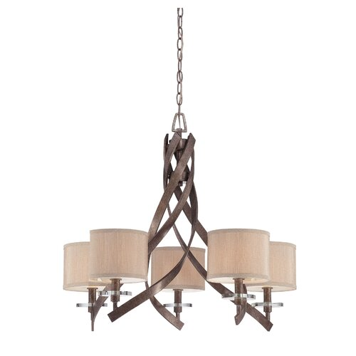 Hudson 5 Light Chandelier