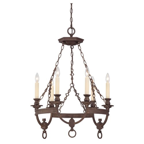 Wildon Home ® Bastille 6 Light Chandelier