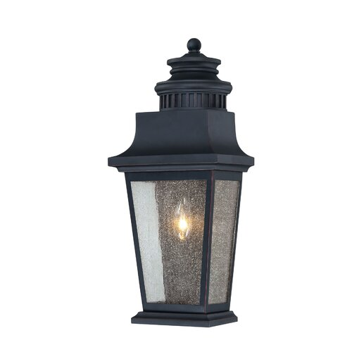 Savoy House Turin 1 Light Outdoor Wall Lantern
