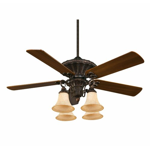 "Wildon Home ® 52"" Villamoura 5 Blade Ceiling Fan"