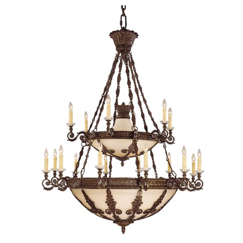 Wildon Home ® Corsica 18 Light Chandelier