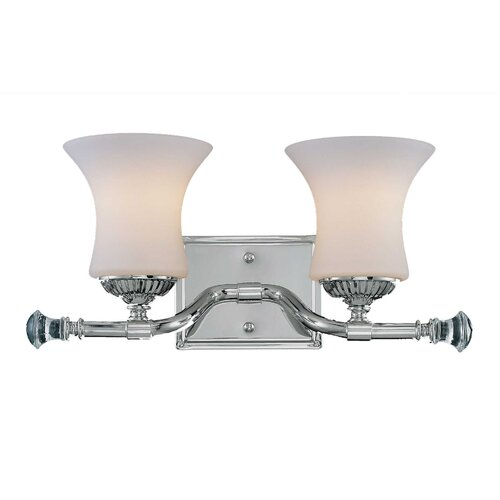Wildon Home ® Jemmy 2 Light Bath Vanity Light