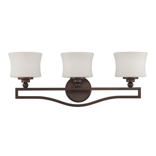 Savoy House Baker 3 Light Bath Vanity Light