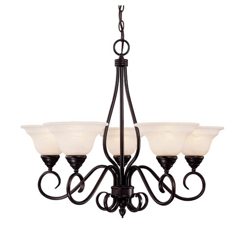 Wildon Home ® Duncan 5 Light Chandelier