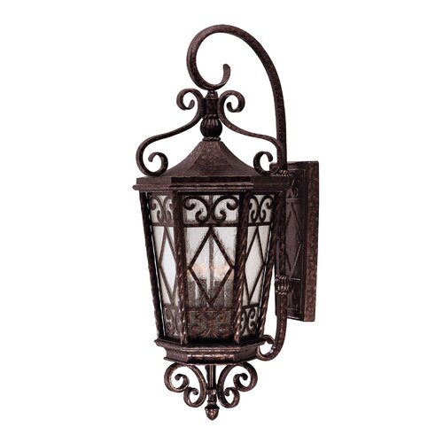Wildon Home ® Crawford 4 Light Outdoor Wall Lantern