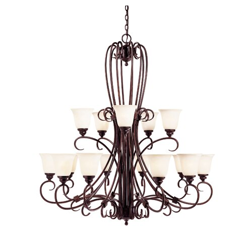 Sinclair 15 Light Chandelier