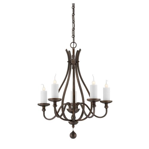 Wildon Home ® Alsace 5 Light Chandelier