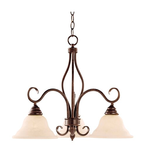 Wildon Home ® Bryce 3 Light Chandelier