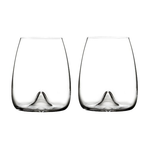 Elegance Stemless Wine Glass (Set of 2)