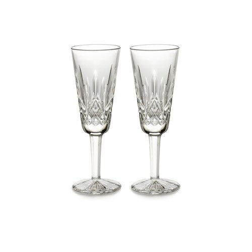 Lismore Champagne Flute Glass (Set of 2)