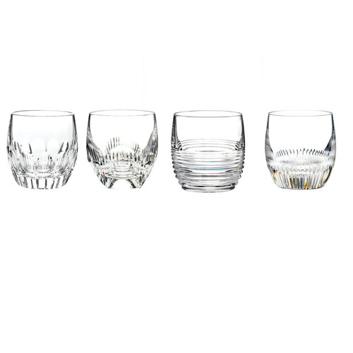 Mixed Double Old Fashioned Glass (Set of 4)