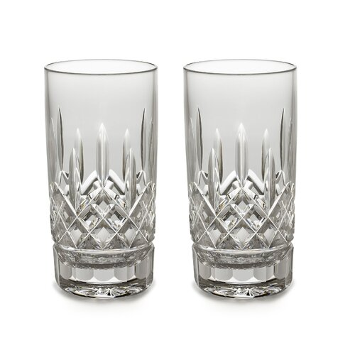 Lismore 12 oz. Highball Glass (Set of 2)