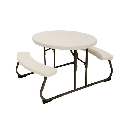 Kid's Oval Picnic Table