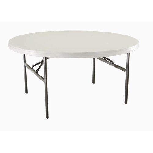 "Lifetime 60"" Round Folding Table"