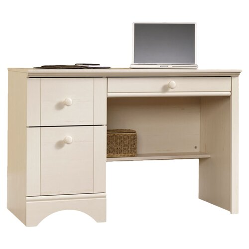Sauder Harbor View Computer Desk with Keyboard Tray