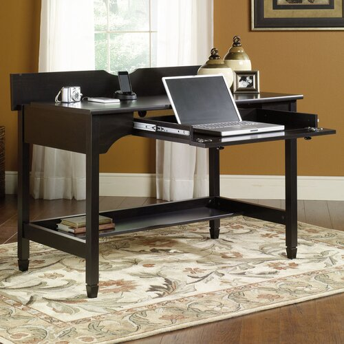 Sauder Edge Water Computer Desk with Keyboard Tray