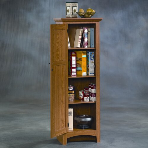 Sauder summer home 61 quot kitchen pantry amp reviews wayfair supply