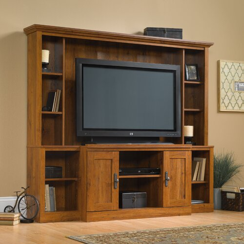 Sauder Harvest Mill Entertainment Center Amp Reviews Wayfair