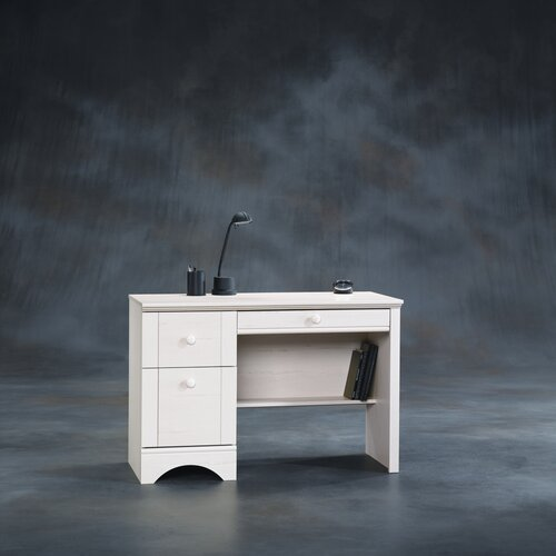 Sauder Harbor View Writing Desk in Antique White