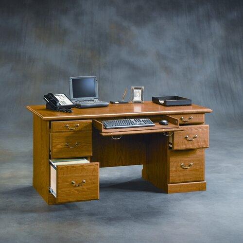 Sauder Orchard Hills Executive Desk Amp Reviews Wayfair