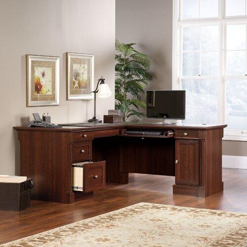 Sauder Palladia Office Desk with Locking Drawer