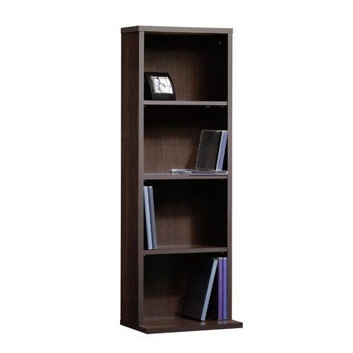 sauder beginnings multimedia storage tower reviews wayfair. Black Bedroom Furniture Sets. Home Design Ideas