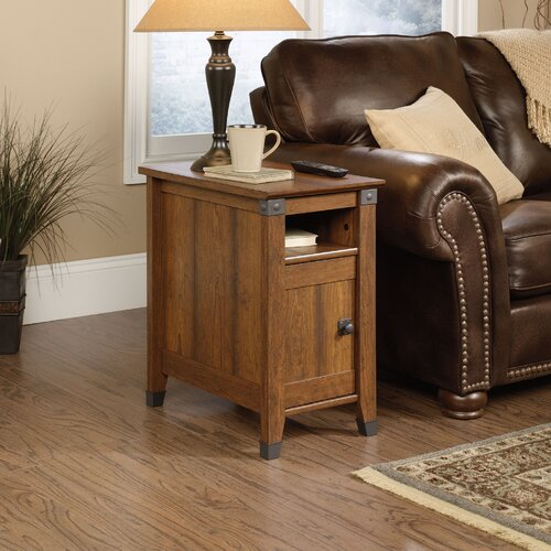sauder carson forge end table reviews wayfair