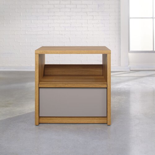 Soft Modern 1 Drawer Night Stand