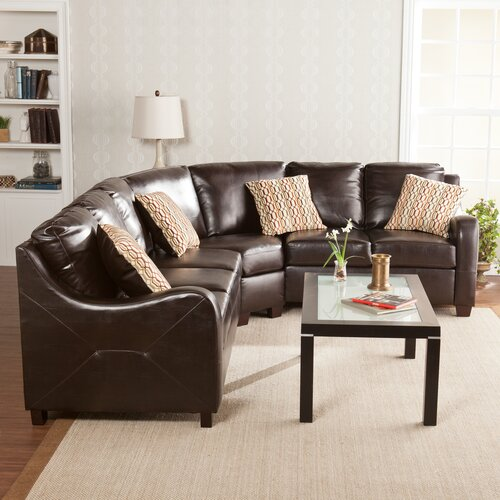 Wildon Home ® Beckett Synthetic Leather Sectional