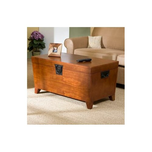 Wildon Home ® Danville Trunk Coffee Table with Lift-Top
