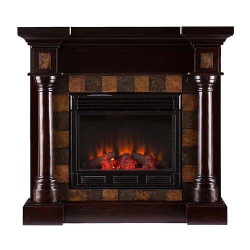 Clark Convertible Slate Electric Fireplace