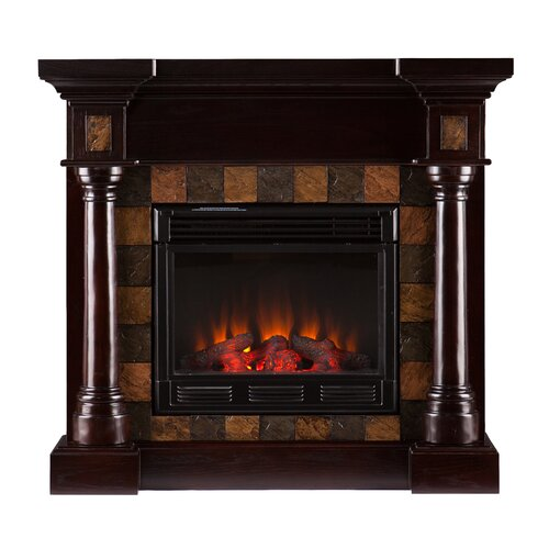 Wildon Home ® Clark Convertible Slate Gel Fuel Fireplace